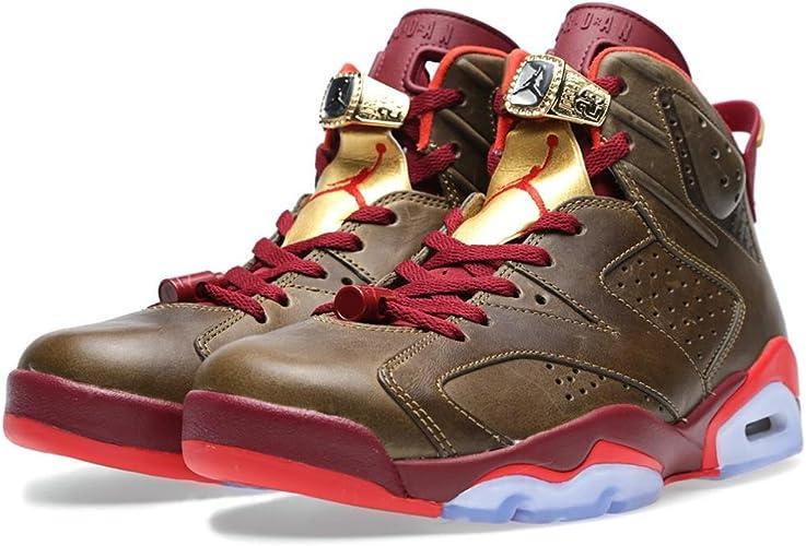 Nike Air Jordan 6 Retro 'Cigar' Raw UmberTeam Red Trainer