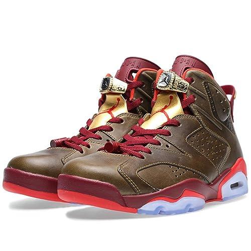 Nike Air Jordan 6 Retro  Cigar  Raw Umber Team Red Trainer 2d73a750d4c