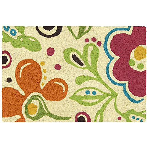 "Jellybean Fab Floral - 21"" X 33"" Floral Garden Indoor Outdoo"