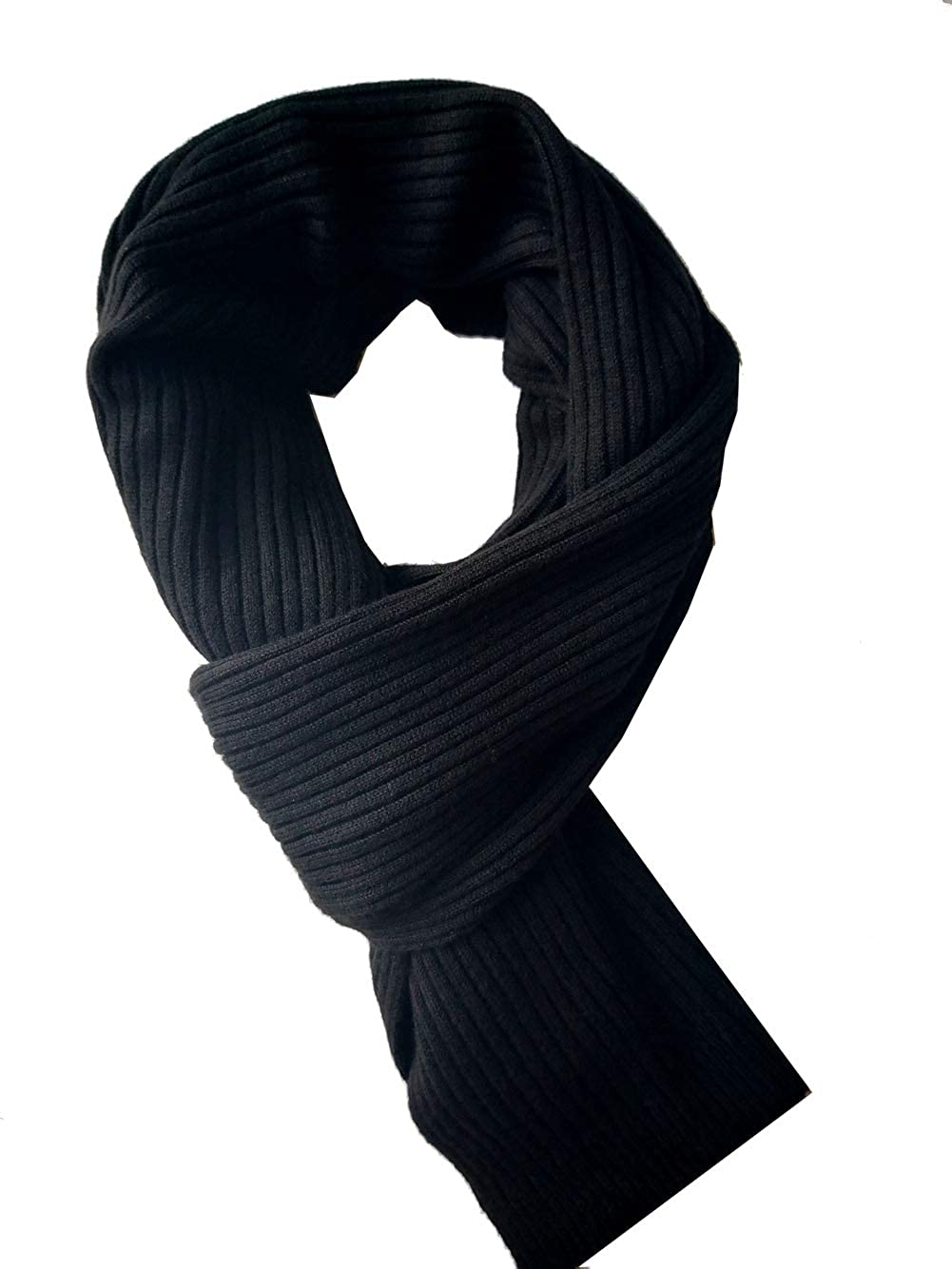 Mens Cashmere Long Scarf Winter Warm Cold Weather Scarves