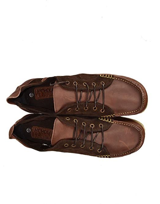 Nicholas Deakins Men's HIKE Lace Up Boat Shoes Dark Brown (NDFW001) Size UK  11: Amazon.co.uk: Shoes & Bags