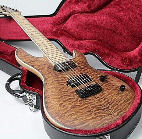 8 cuerdas eléctricas para cuello de guitarra Thru-Body-ASH-Body ...