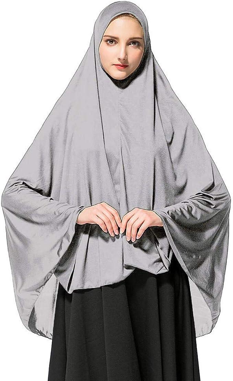 Oración para Mujeres Khimar Lista para Usar Hijab Largo con ...