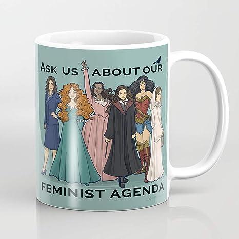 ZIQIZIYU Agenda Feminista 324 ml Taza de café: Amazon.es: Hogar