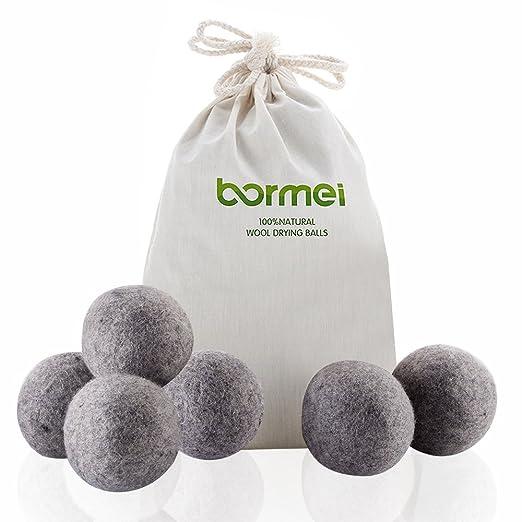 Secador de bolas de lana de oveja, Premium reutilizable Natural ...