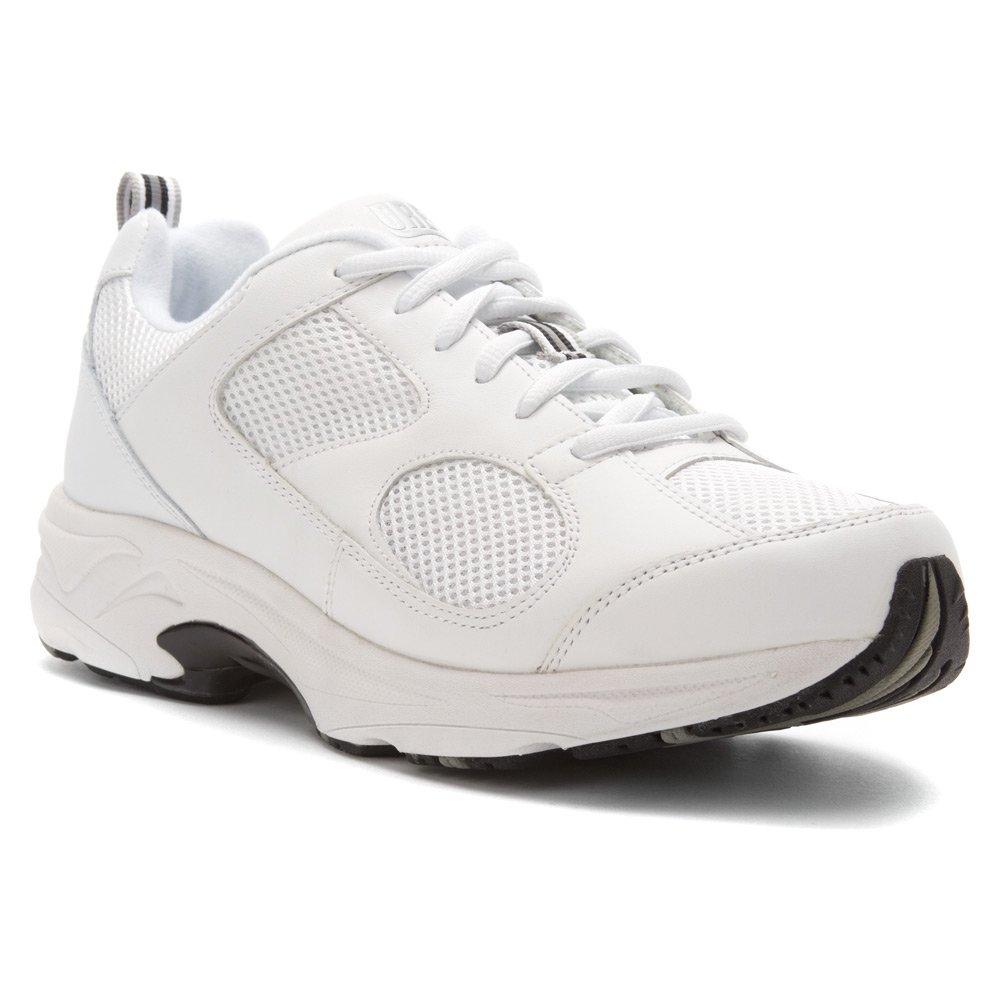 Drew Shoe Men's Lightning II Sneakers B00AB3HODC 12.5 D(M) US White Leather / White Mesh
