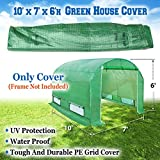 BenefitUSA Green House Replacement Spare Parts for 10'X7'X6'H Walk In Outdoor Plant Gardening Greenhouse (cover) Review