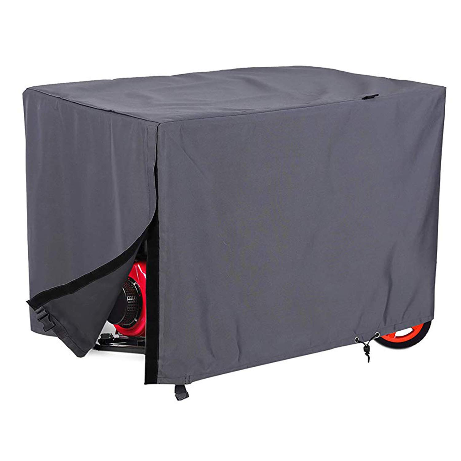 Hybrid Covers - Generator Cover - Enhanced Durability - Dust-Proof - UV Treated Fade, Rip and Water Resistant Fabric - Secure Fit - Buckles and Draw Cord - Small by Hybrid Covers