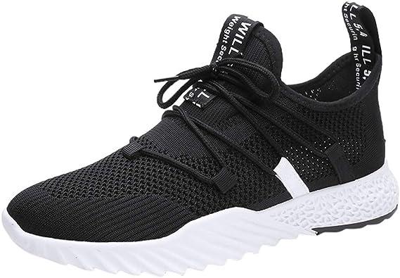 Tefamore Zapatillas Running Hombre Casual Transpirable Ultraligero Calzado Hombre: Amazon.es: Zapatos y complementos