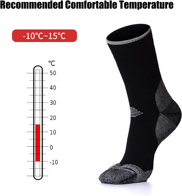 Winter 1 Pair Merino Wool Socks for Snowboarding Cold Weather Mens Ski Socks
