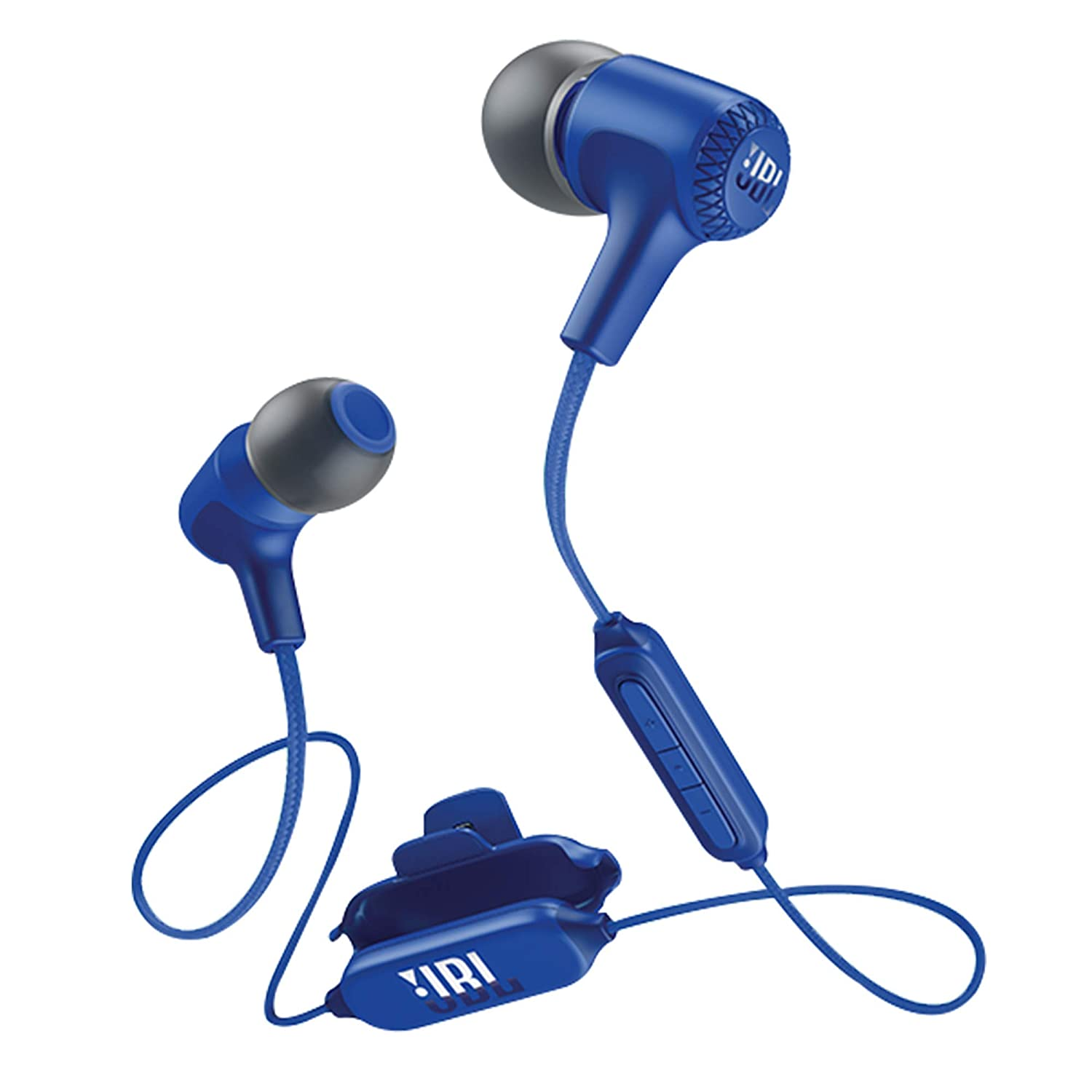 JBL Live 25BT in-Ear Wireless Headphone with 8-Hours Battery Life, Multi-Point Connectivity and Voice Assistant Integration (Blue)