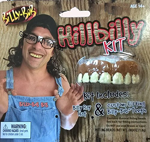 Billy Bob Hillbilly Kit Costume (Hillbilly Accessories)