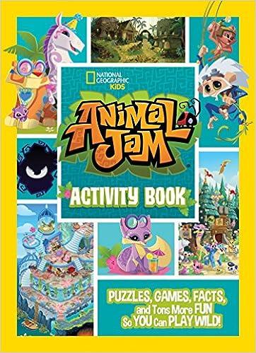 Animal Jam Activity Book: Amazon co uk: National Geographic Kids