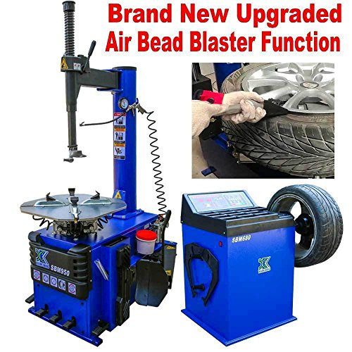NEW 1.5 HP Tire Changer Wheel Changers Machine Balancer Rim Clamp Combo 950 680 / 12 Month (Air Rim Clamp Tire Changer)