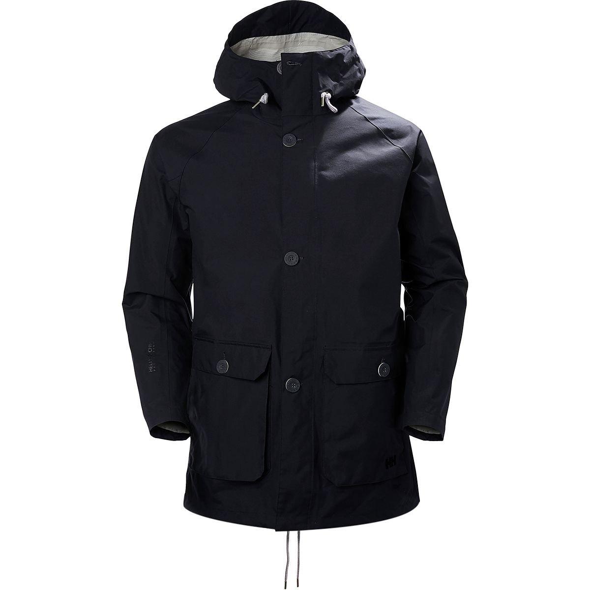 (ヘリーハンセン) Helly Hansen Elements Raincoat メンズ ジャケットGraphite Blue [並行輸入品] B07BBNCGT6 日本サイズ L (US M)|Graphite Blue Graphite Blue 日本サイズ L (US M)