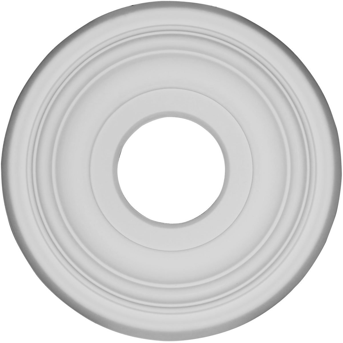 Ekena Millwork CMR12TR 11.5 x 3.5 x 1 in. Traditional Ceiling Medallion Primed