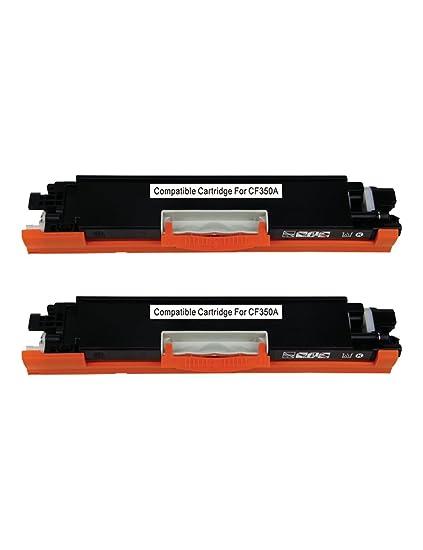 2PK 130A CF350A Compatible Toner for HP LaserJet Pro MFP M176n M177fw NON-OEM
