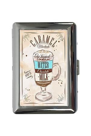 pitillera cigarrera Restaurante Cocinas Receta dulce de leche impreso: Amazon.es: Equipaje