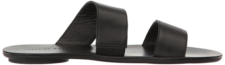Loeffler Randall Women's Clem Flat Sandal B01N3UTGTH 5.5 B(M) US|Black