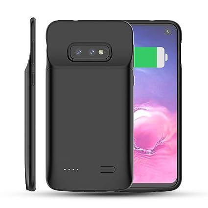 Funda Batería Samsung Galaxy S10e, BasicStock 4700mAh Carcasa Bateria Externa Recargable Protector portátil Carga caso de prueba de choque para ...
