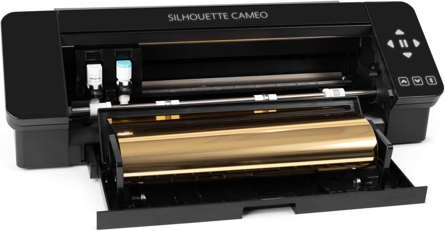 Silhouette Cameo 4 - Herramienta de corte electrónica, color negro: Amazon.es: Hogar