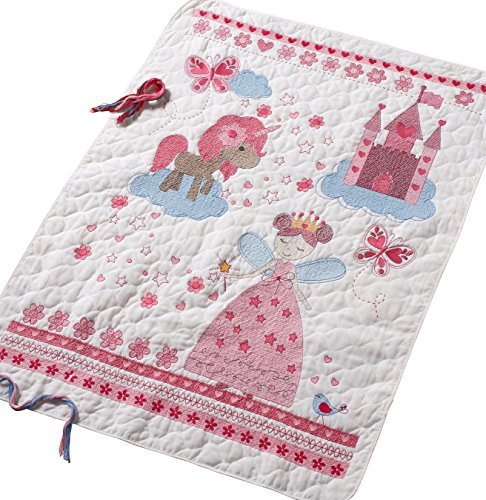 Bucilla 47664 Fairytale Princess Crib Cover
