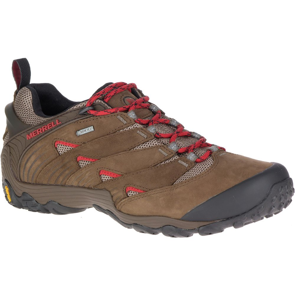 Merrell Mens Chameleon 7 GTX Waterproof Walking Hiking Shoes  7|Boulder