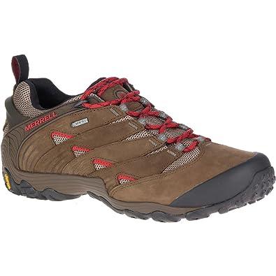 Merrell Mens Chameleon 7 GTX Waterproof Walking Hiking Shoes  UK Size 12 (EU 47 US 12.5)Boulder