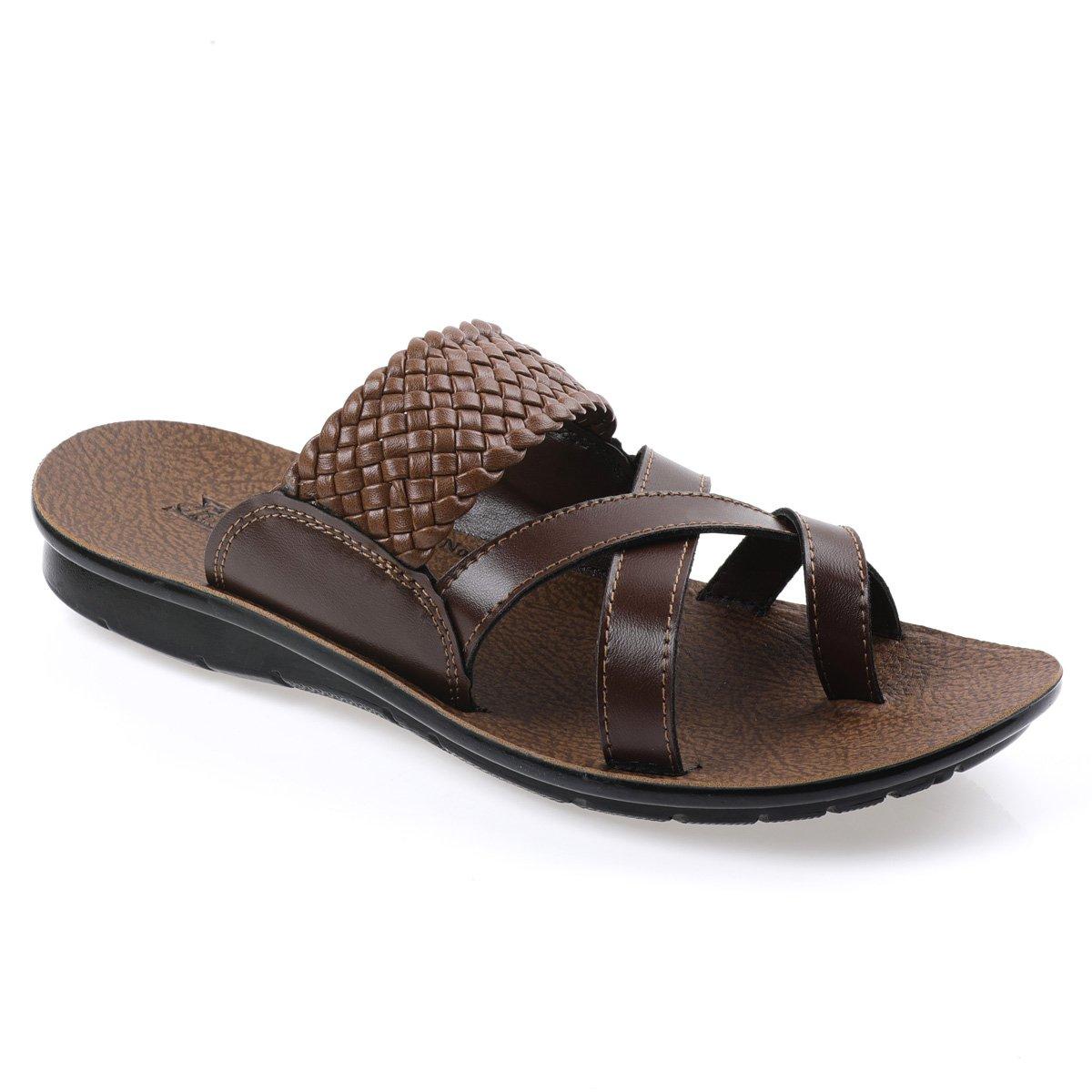 Buy PARAGON Men's Brown Thong Sandals-9