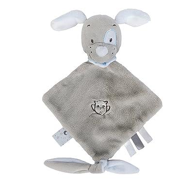 Nattou Mini Doudou Toby el perro de peluche juguetes: Bebé