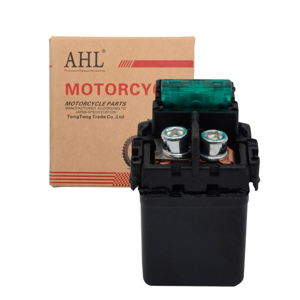 AHL Motorcycle Starter Solenoid Relay for Honda Nighthawk 250 CB250 1991-2008