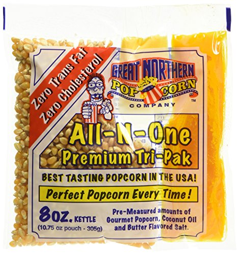 (Great Northern Popcorn 8 oz. Popcorn Portion Packs - Case of 24)