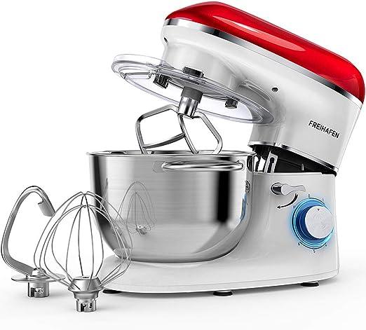 Robot de cocina (1400 W, con cuenco de acero inoxidable de 5,5 L ...
