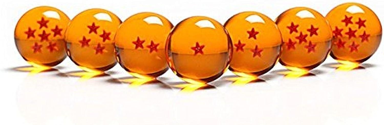 Katara 1737 Boules Du Dragon Ensemble De 7 Dragon Balls Sept Dragonballs Z Diam/ètre 4cm Cosplay Anime Costume Goku
