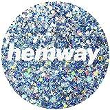 Hemway Silver Blue Ice Holographic Mix Glitter