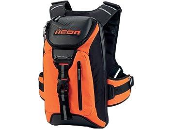 Icon squad moto sac à dos orange amazon auto et moto
