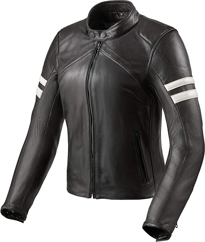 Revit Meridian chaqueta cafe racer mujer