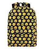 Best Emoji Backpacks For Kids - Zicac Kids' Cool Smiling Face Pattern Backpack Student Review