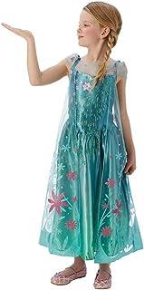 Rubie´s Frozen Elsa Costume for children size S.  sc 1 st  Amazon UK & Rubie´s Anna costume the ice queen for children size: S: Amazon.co ...