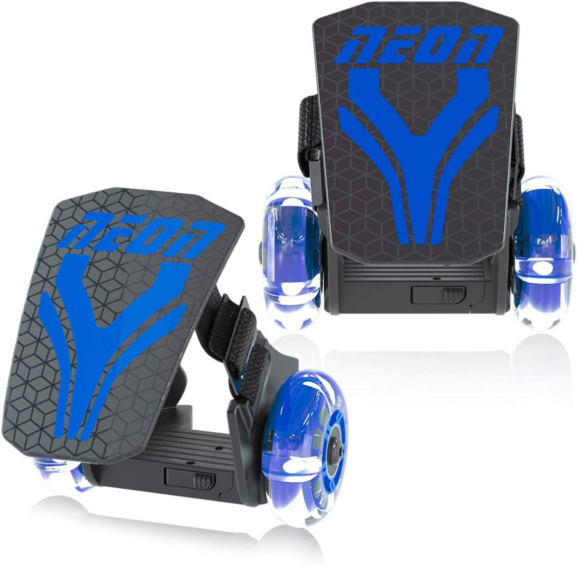 Flashing Heel Wheels Clip on Skates for