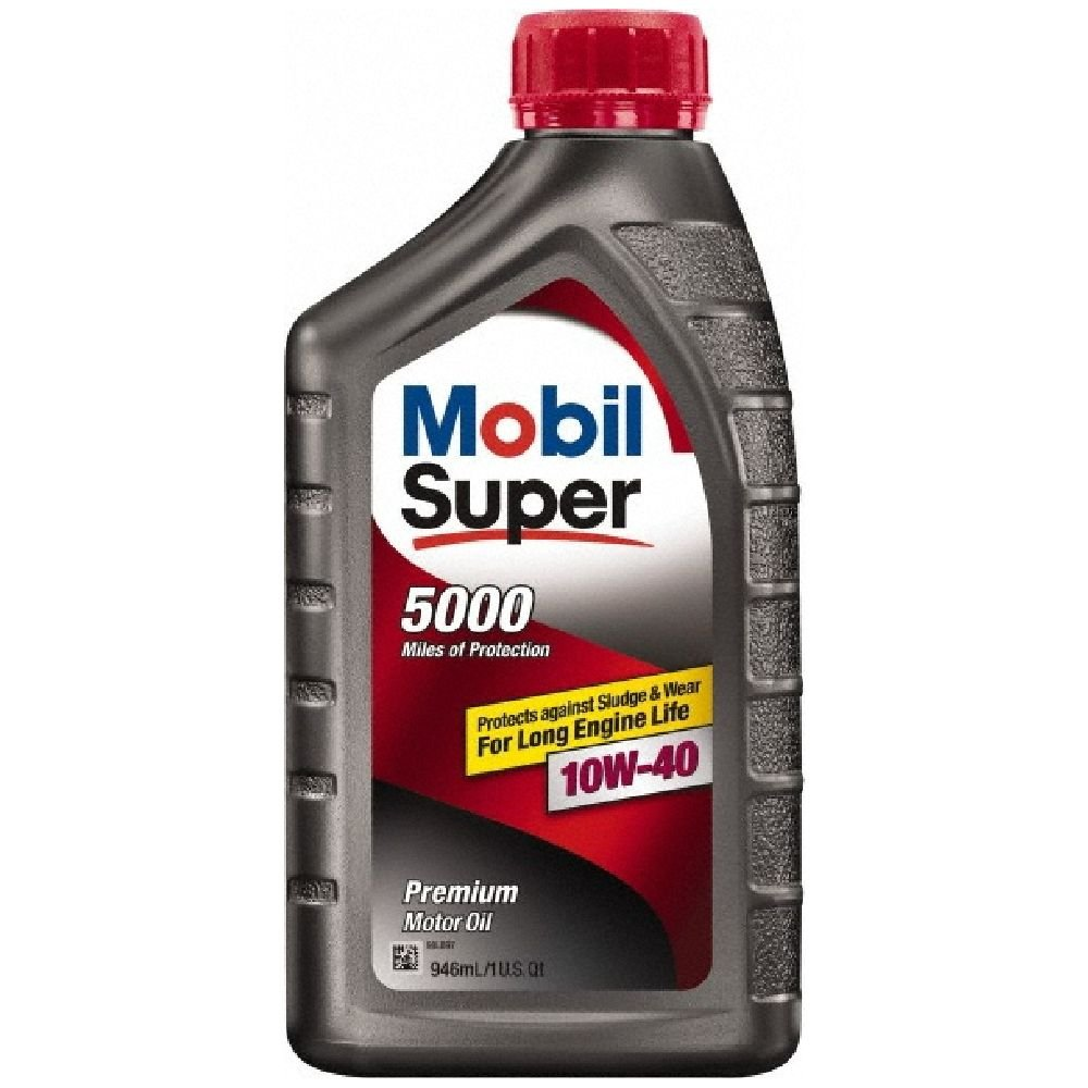 Mobilスーパー( 120430 – 6pk ) 10 W-40 Motor Oil 1クォート – 、6パック B00LWUWWYY