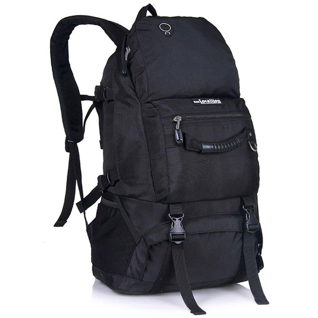 zmlsxuスポーツアウトドア大容量旅行バッグファッション40lバッグシンプルパーソナリティメンズとレディースバックパックマルチカラー選択 B07DSDMXDH ブラック