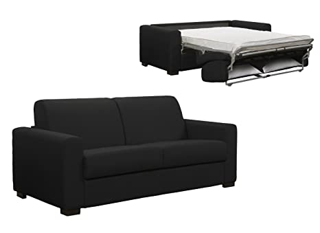 Mobilier Deco - Sofá cama de 3 plazas (cama doble), color ...