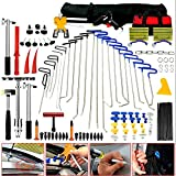 PDR Tools - Paintless Dent Repair Tools Dent Puller Tool Box 23PCS Car Rods Hail Lifter Removal Complete Automotive Kit - Skroutz