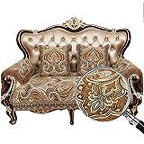 Sideli Luxury Sofa Throw Pad Furniture Protector Sold By Piece Rather Than Set Non-slip (27.6x63(70x160cm), Fushide-Coffee)