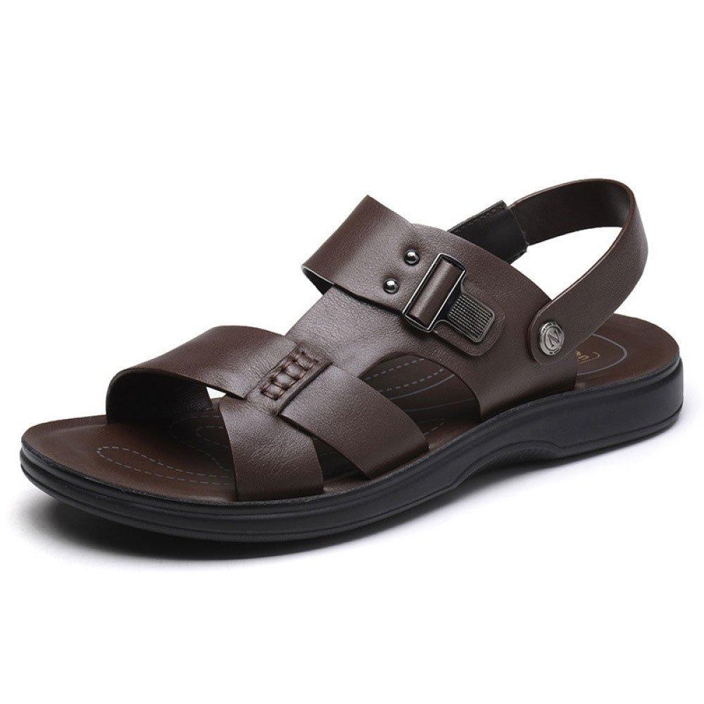 Sandalias para Hombres Zapatos De Playa De Verano Zapatillas Informales Brown