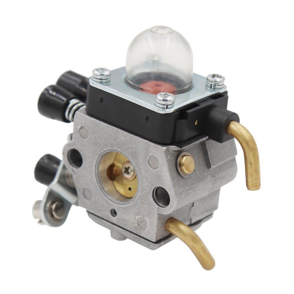 HUZTL C1Q-S97 Carburetor for STIHL FS38 FS45 FS46 FS55 KM55 HL45 FS45L FS45C FS46C FS55C FS55R FS55RC FS85 FS80R FS85R FS85T FS85RX String Trimmer Weed Eater with Air Filter Fuel Line Kit by by HUZTL (Image #5)