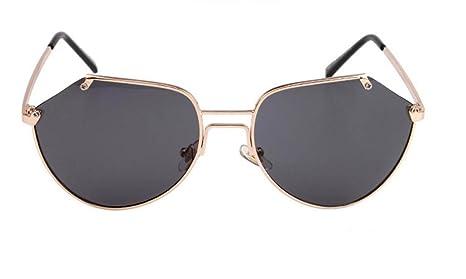 LQABW Occhiali Da Sole Color Film Yurta Irregolare E Senza Sopracciglia Occhiali Per Uomo E Donna,Type1