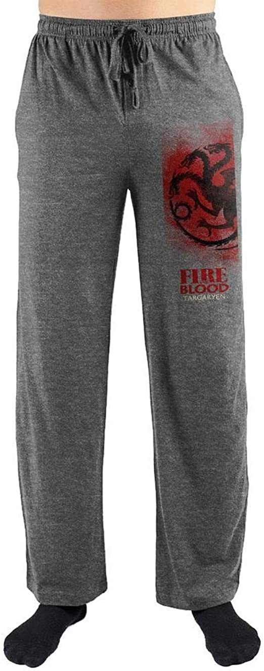 NEW Game of Thrones Houses Men/'s Pajama Pant Costume Adult Lounge Sleep Size L