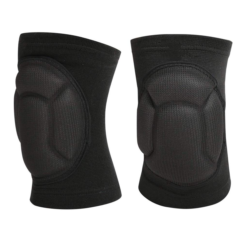TY BEI Kneepad Kneepad - Protective Knee Pads, Thick Sponge Anti-Slip, Collision Avoidance Knee Sleeve @@ (Color : Black) by TY BEI (Image #1)